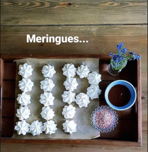 Meringues spelling UP